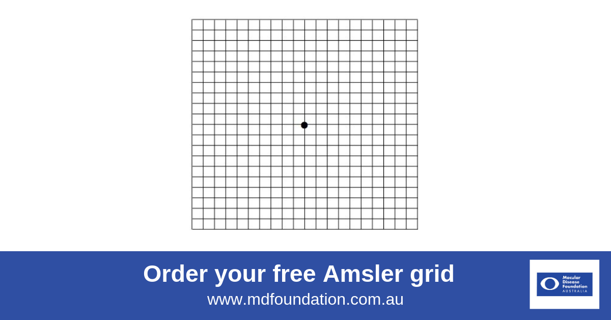 picture regarding Printable Amsler Grid named Amsler Grid Macular Condition Base Australia